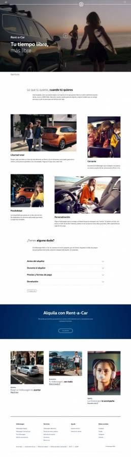 Rent-a-Car Volkswagen